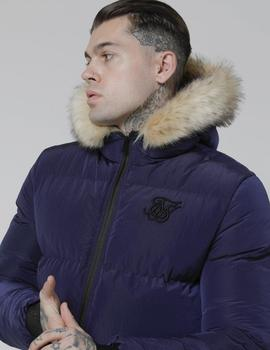 Cazadora SikSilk DISTANCE JACKET- Navy