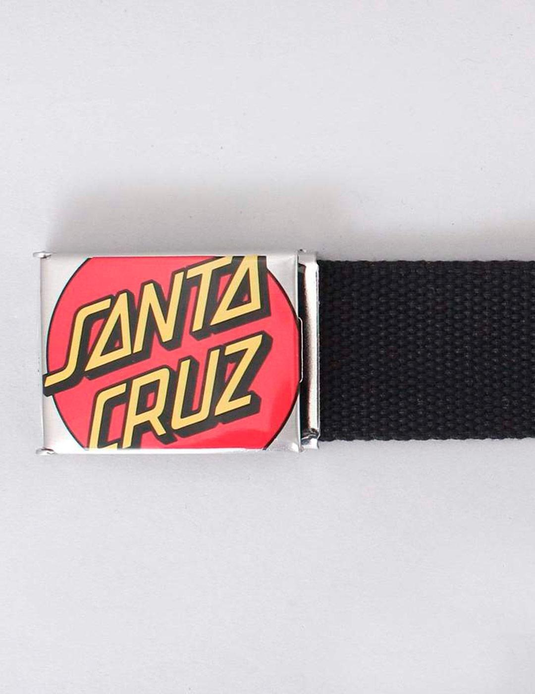 Cinturón Santa Cruz CROP DOT - BLACK