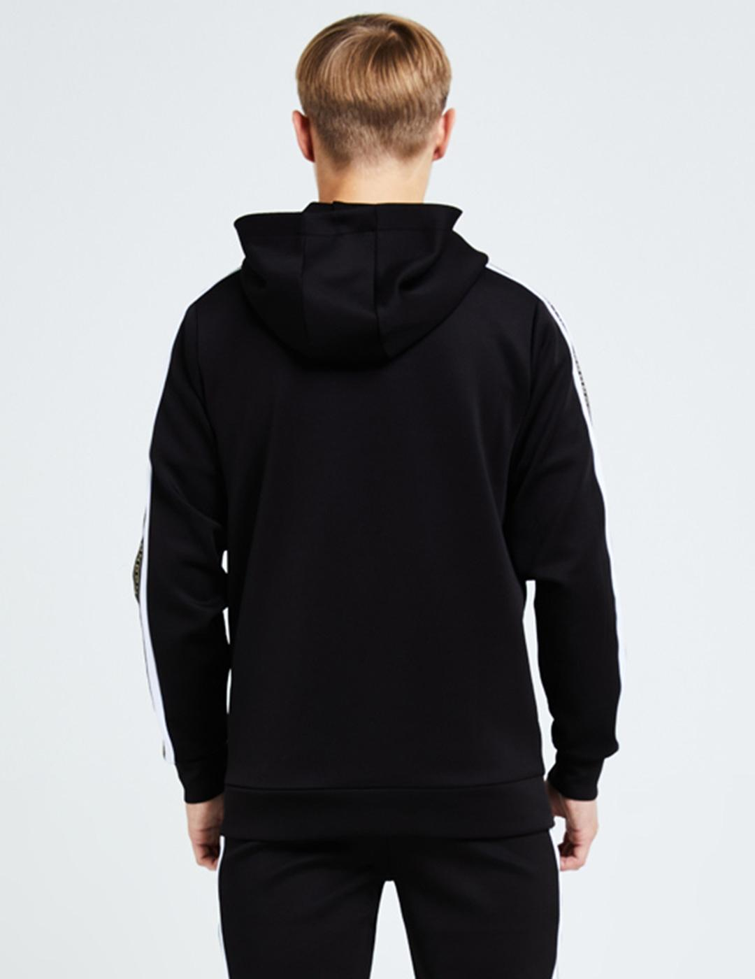 Sudadera Capucha ILLUSIVE LONDON DIVERGE - Black-White