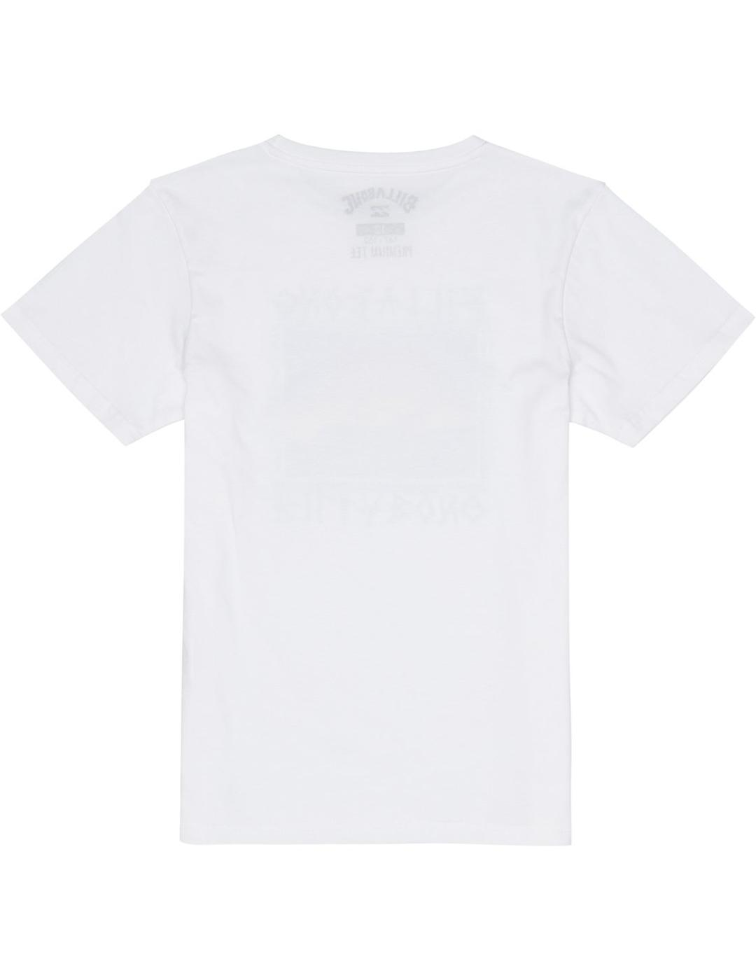Camiseta Billabong (JUNIOR) BONE YARD - White