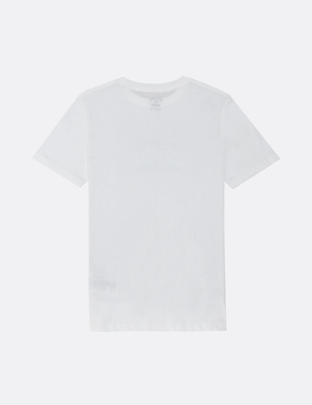 Camiseta Billabong (JUNIOR) TEAM WAVE - White