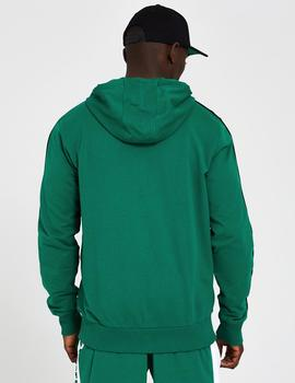 Sudadera STRIPE PIPING BOS CELTICS - Verde
