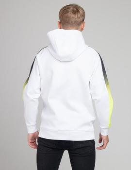 Sudadera ILLUSIVE LONDON FADE PANEL OVERHEAD- White