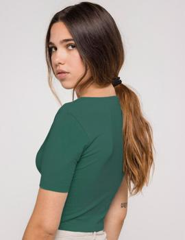 Camiseta Kaotiko Top MARGE - Verde