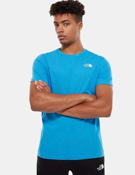 Camiseta The North Face ME91 - CLEAR LAKE BLUE/TNF BLACK