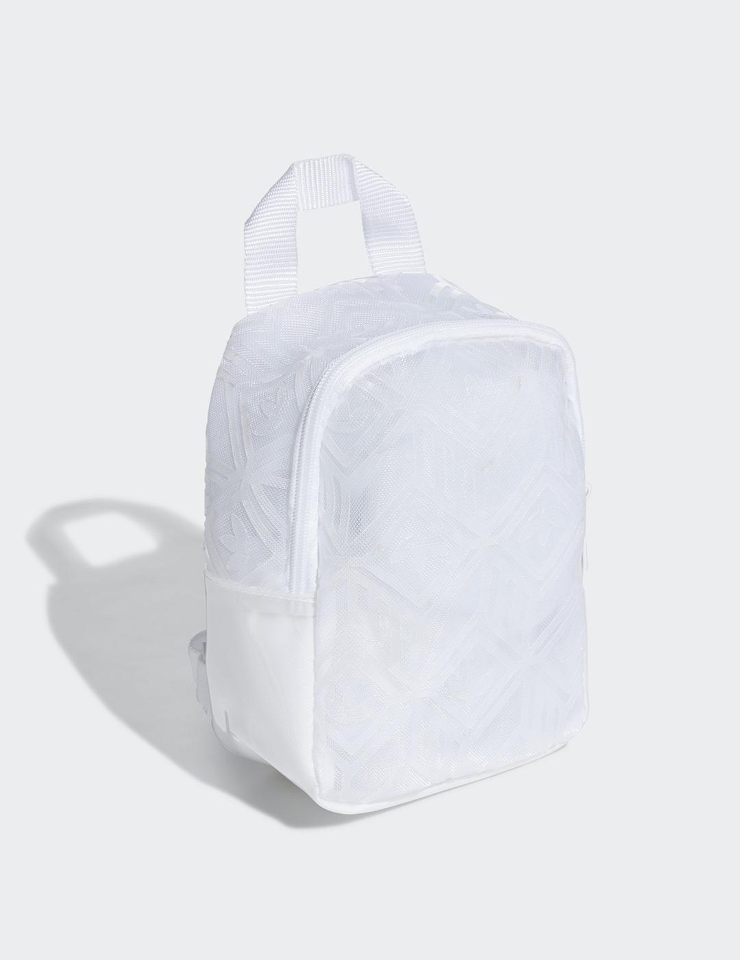 Mochila Adidas BP MINI - Blanco Transparente
