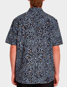 Camisa Volcom STRIVER - China Blue
