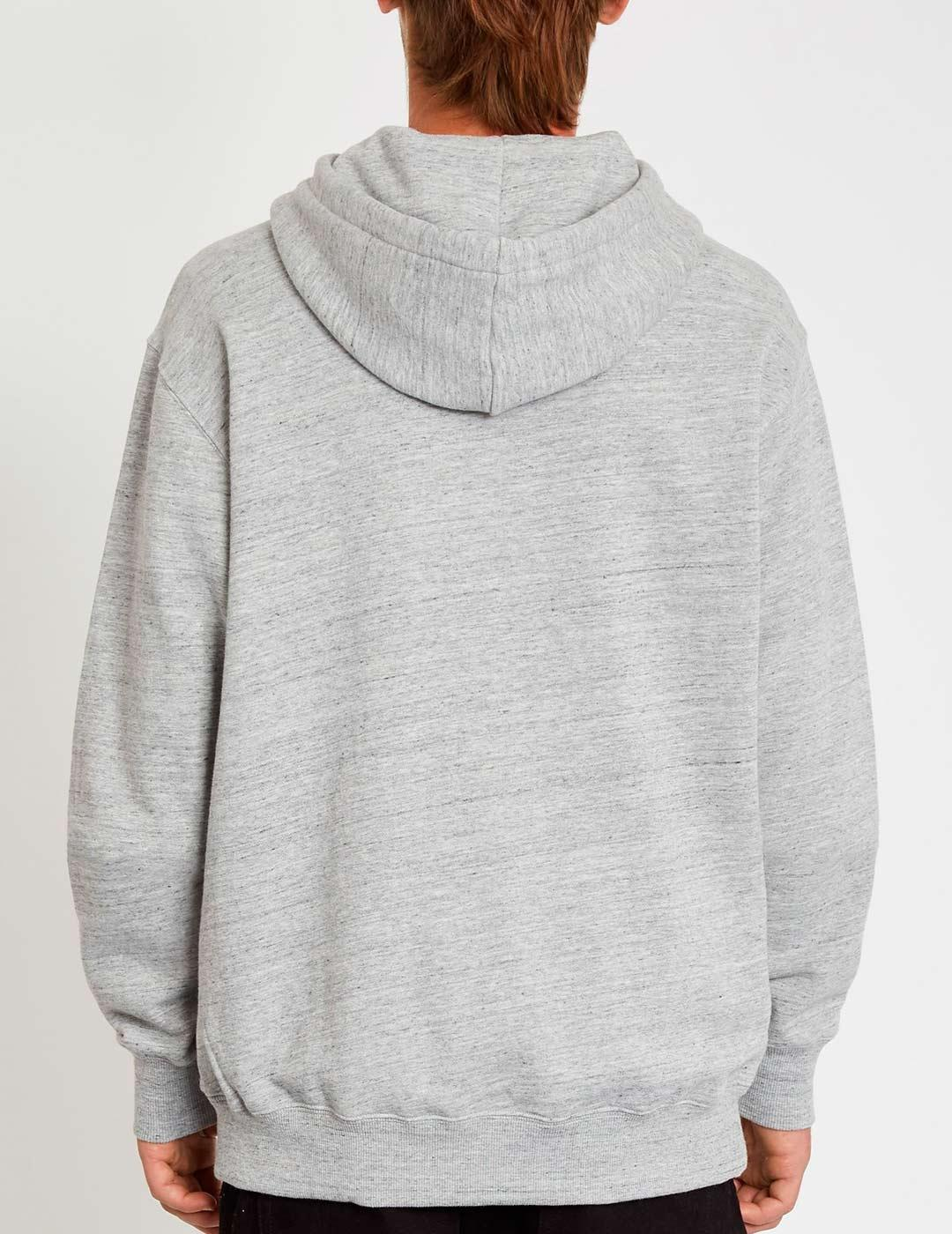 Sudadera Capucha ZERO DIVISION - Heather Grey
