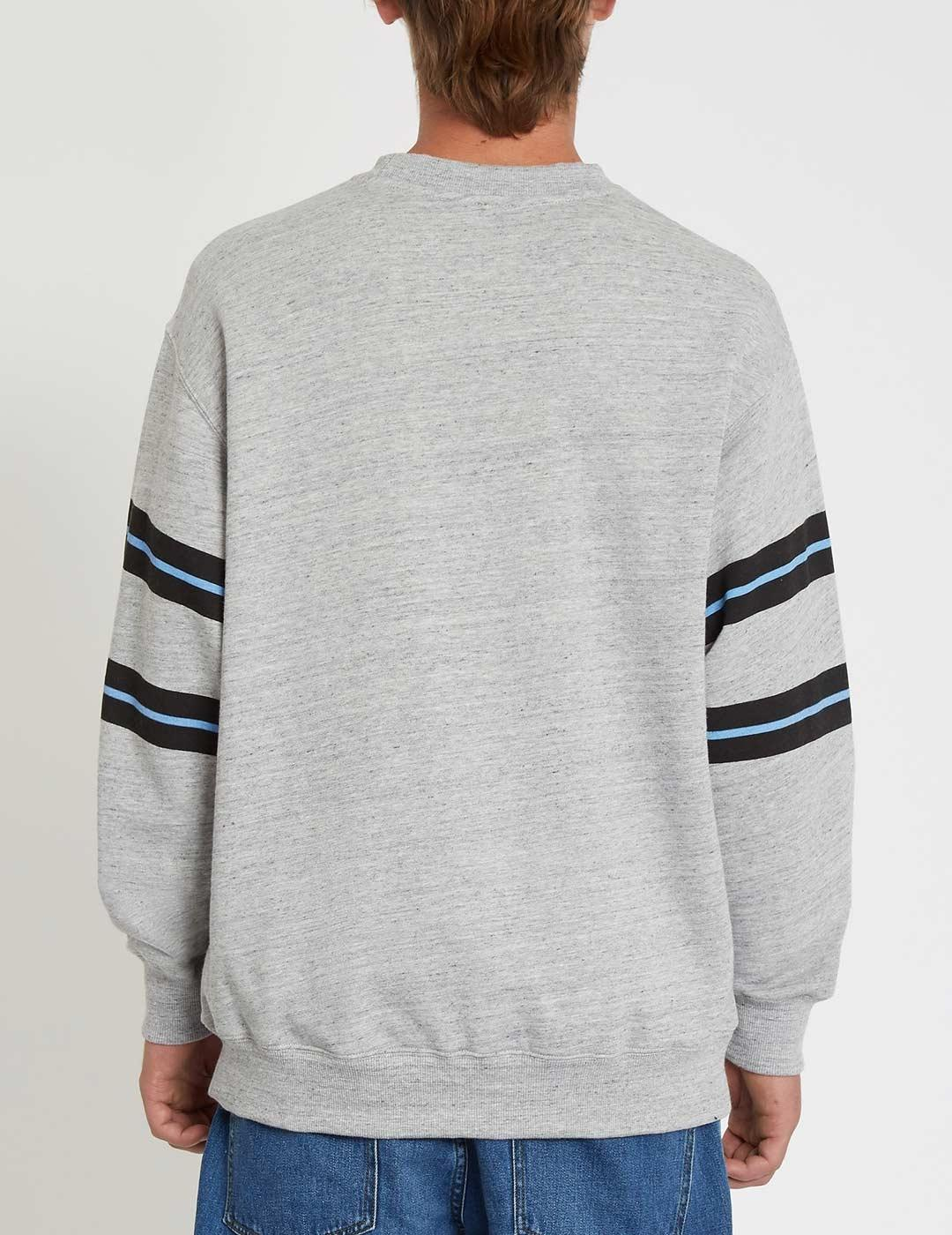 Sudadera Crew Volcom ZERO DIVISION - Heather Grey