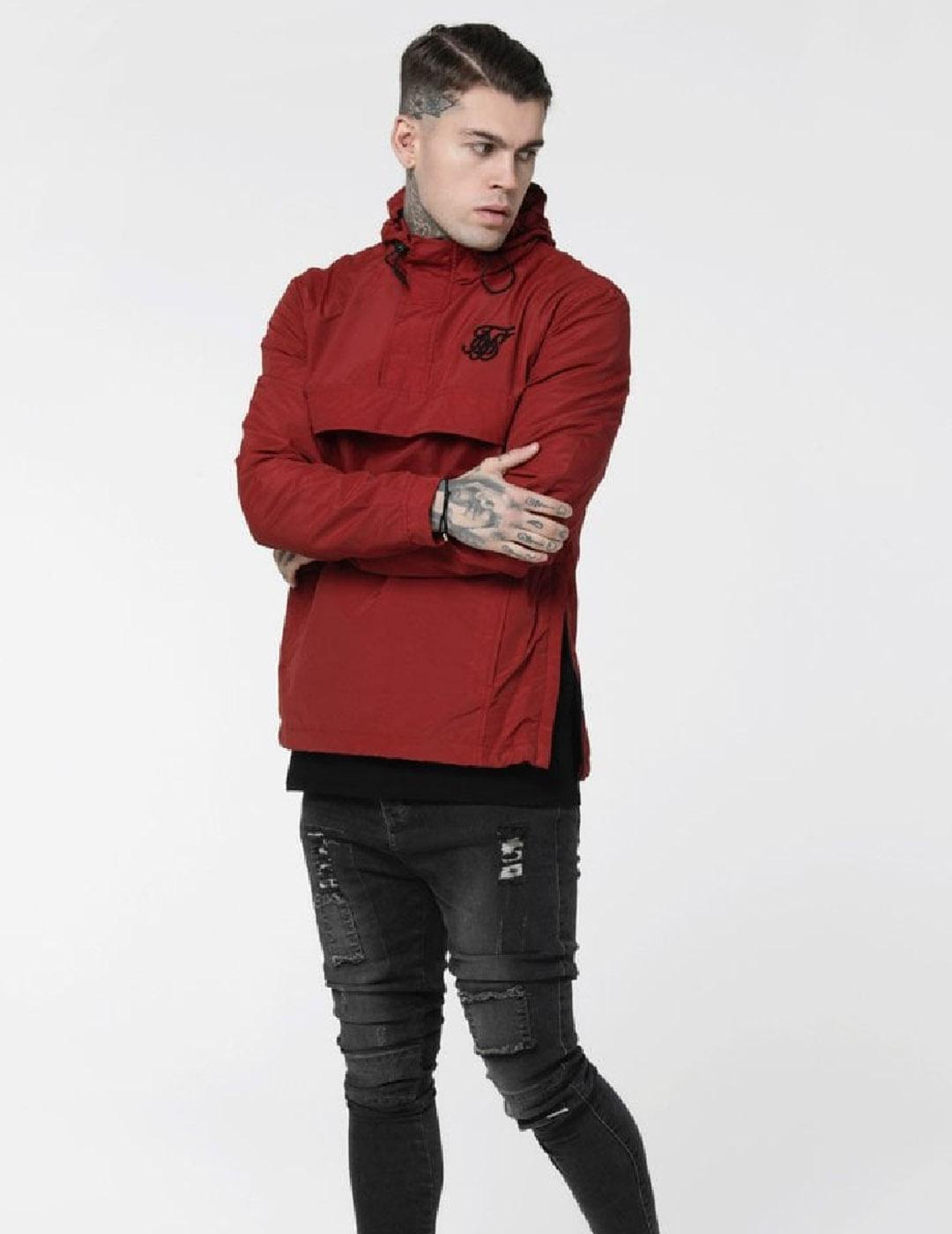 Canguro Siksilk ENERGY WINDBREAKER - RED