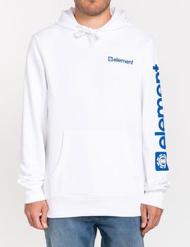 Sudadera Capucha Element JOINT - Optic White