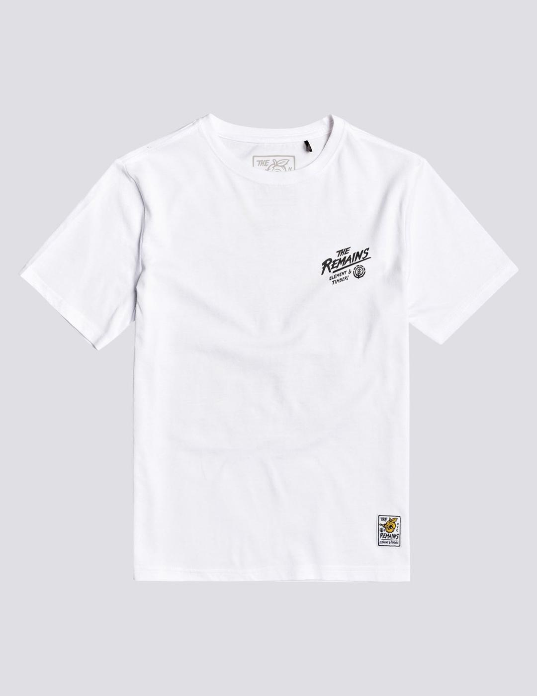 Camiseta (JUNIOR) Element LIBERTY - Optic White