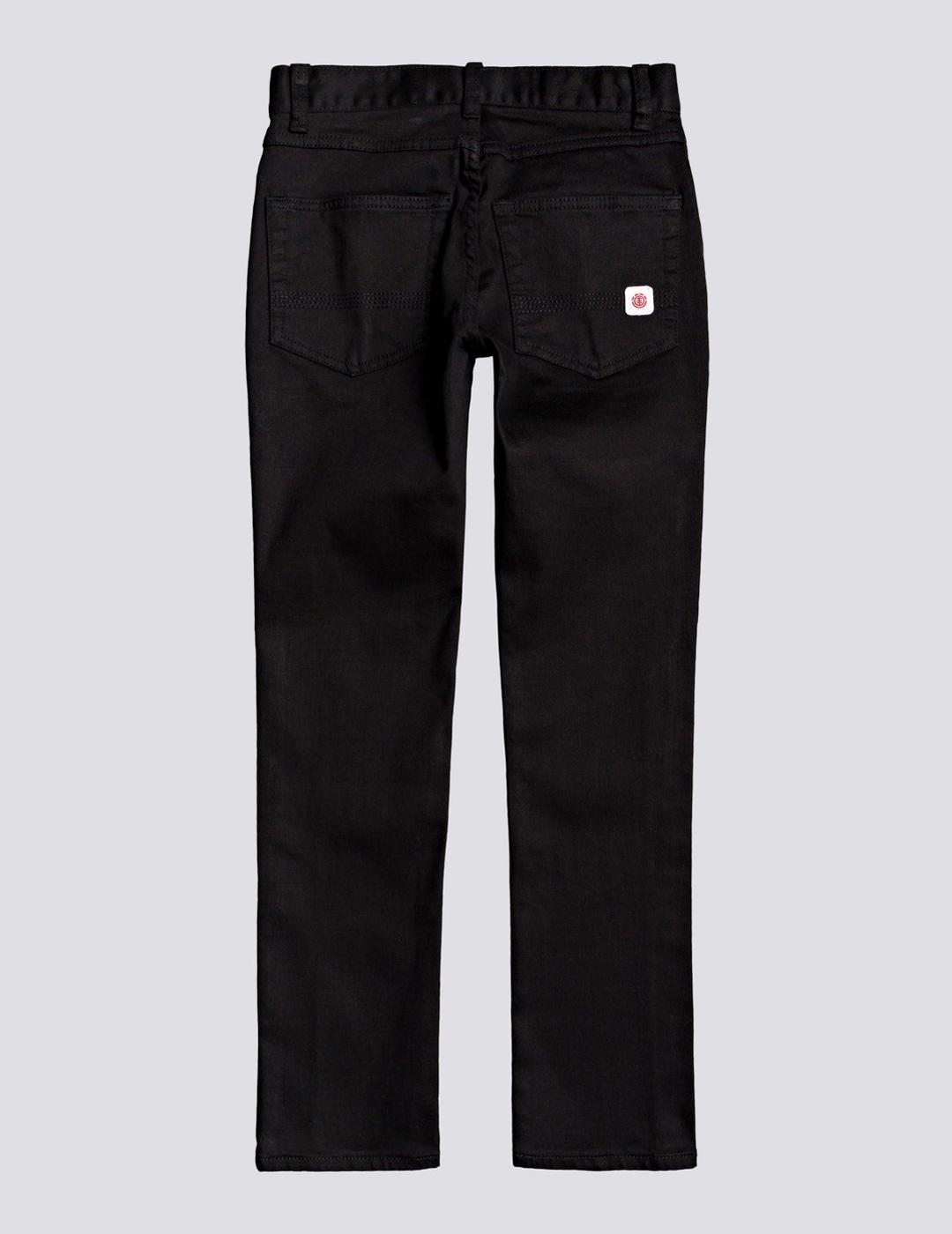 Pantalón (JUNIOR) Element E01 COLOR TWILL - Flint Black