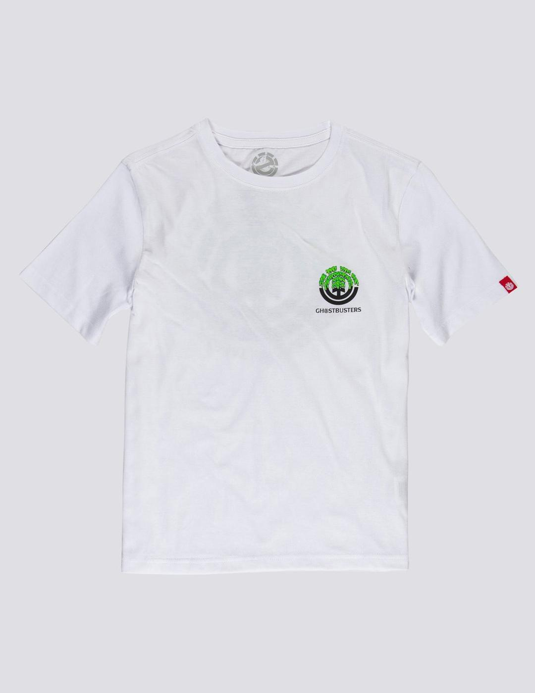 Camiseta (JUNIOR) Element PROTON SEAL - Optic White