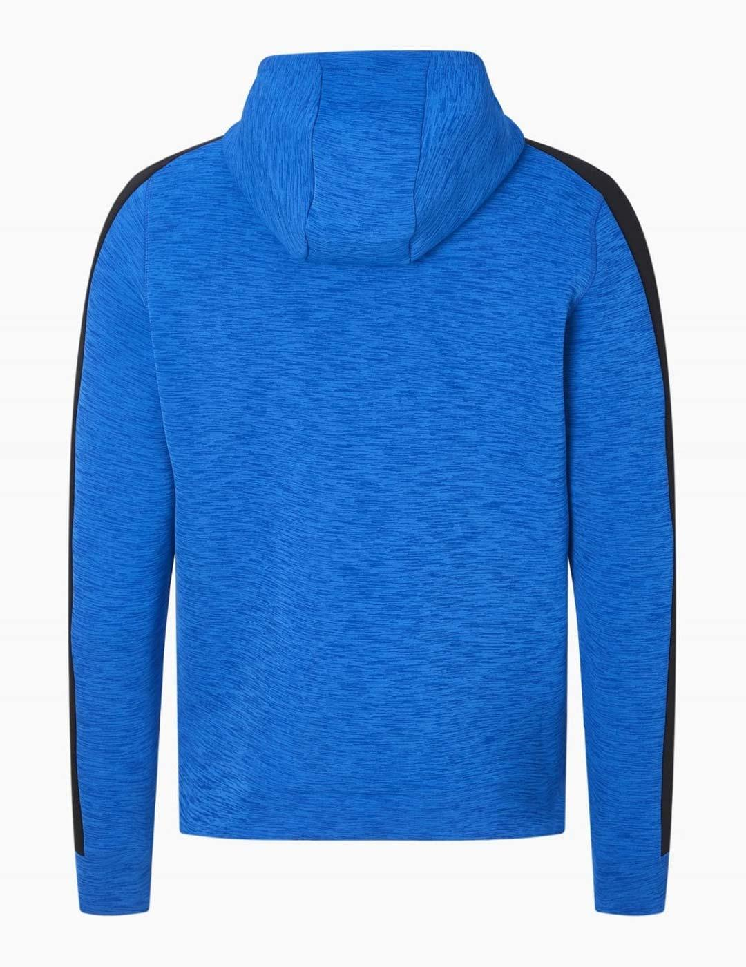 Sudadera Eleven SPACE DYE QUARTER - Blue/Black