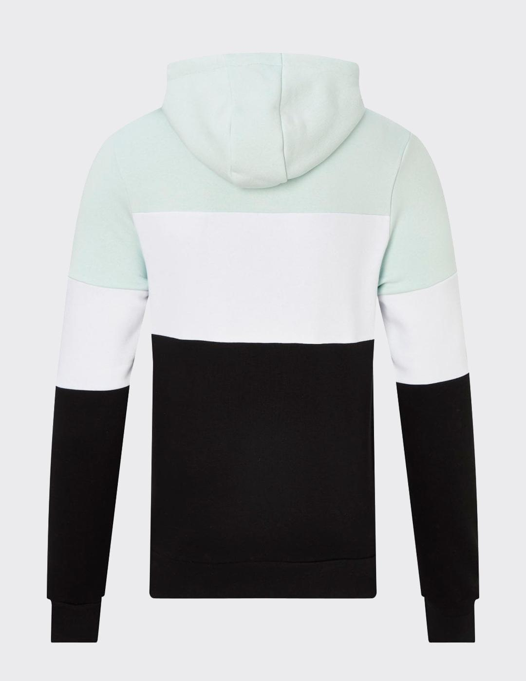 Sudadera TRIPLE PANEL CUT AND SEW - Glacier/Black/