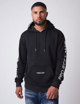 Sudadera Project X Paris Capucha 2020073 - Negro