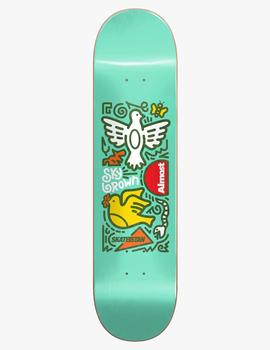 Tabla Skate ALMOST SKATEISTAN SKY DOODLE R7 7.75'- Mint