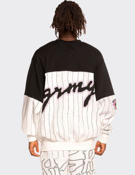 Sudadera Crew GRIMEY STRANGE FRUIT ALL OVER PRINT  - Blan