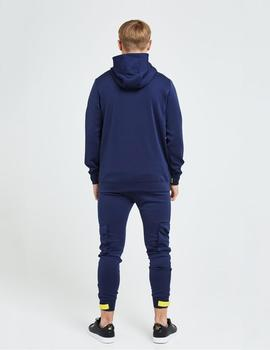 Sudadera Capucha Illusive London ELEMENT - Navy gold/Yellow