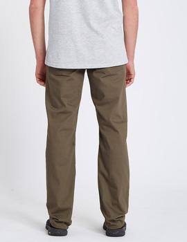 Pantalón Volcom SOLVER 5 POCKET - Tarmac Brown