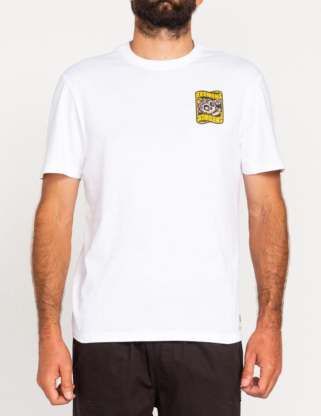 Camiseta Element NOMADIC - Optic White