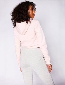 Sudadera Eleven Degrees CORE CROPPED - Chalk Pink