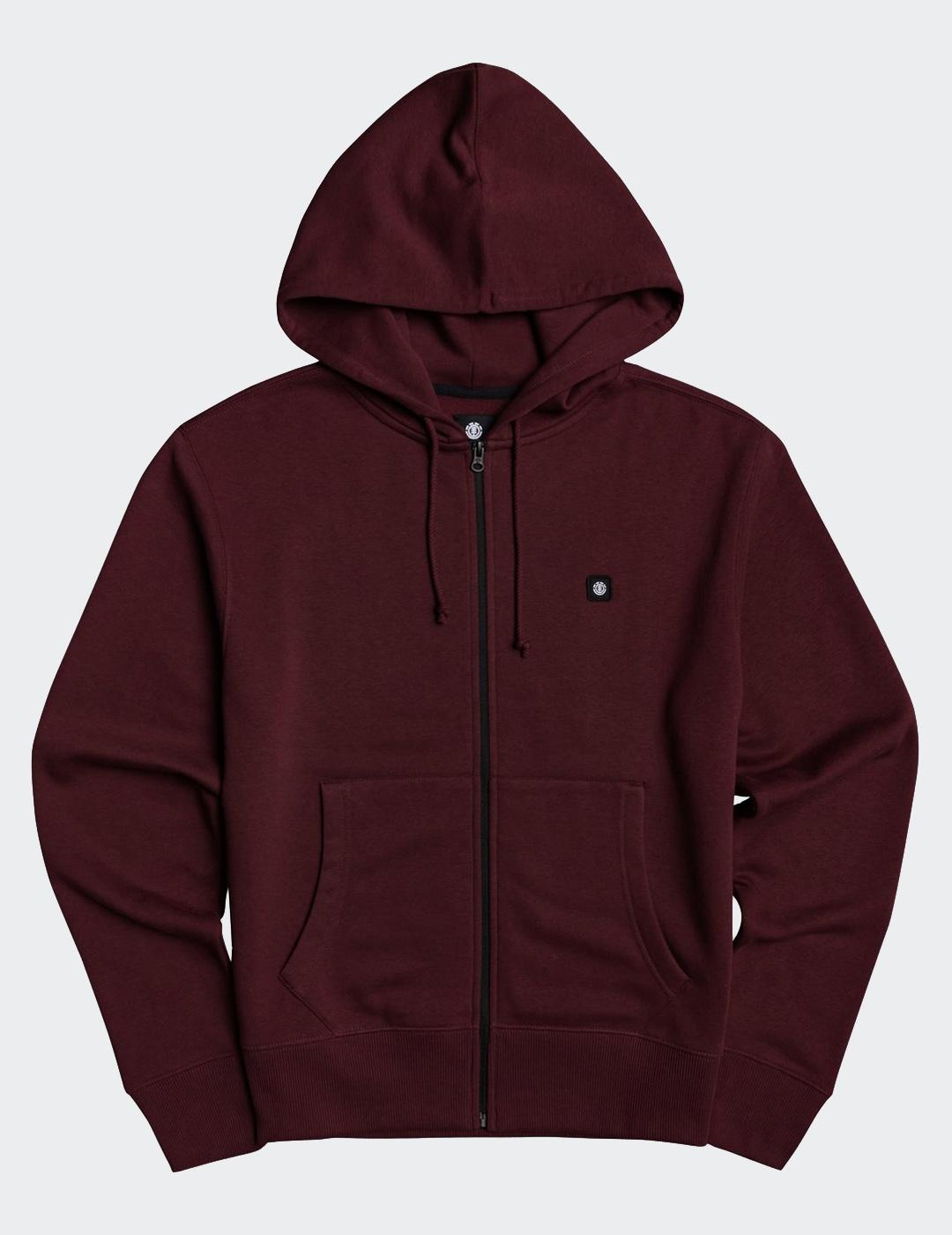 Sudadera Abierta Element 92 ZH - Vintage Red