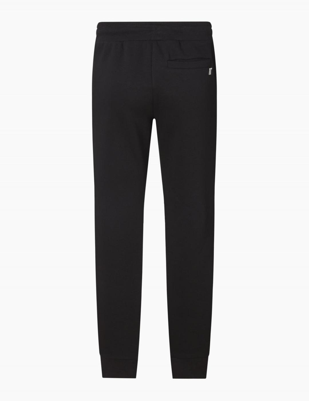 Pantalón Eleven CUT AND SEW PIPED REGULAR - Black/Poder B
