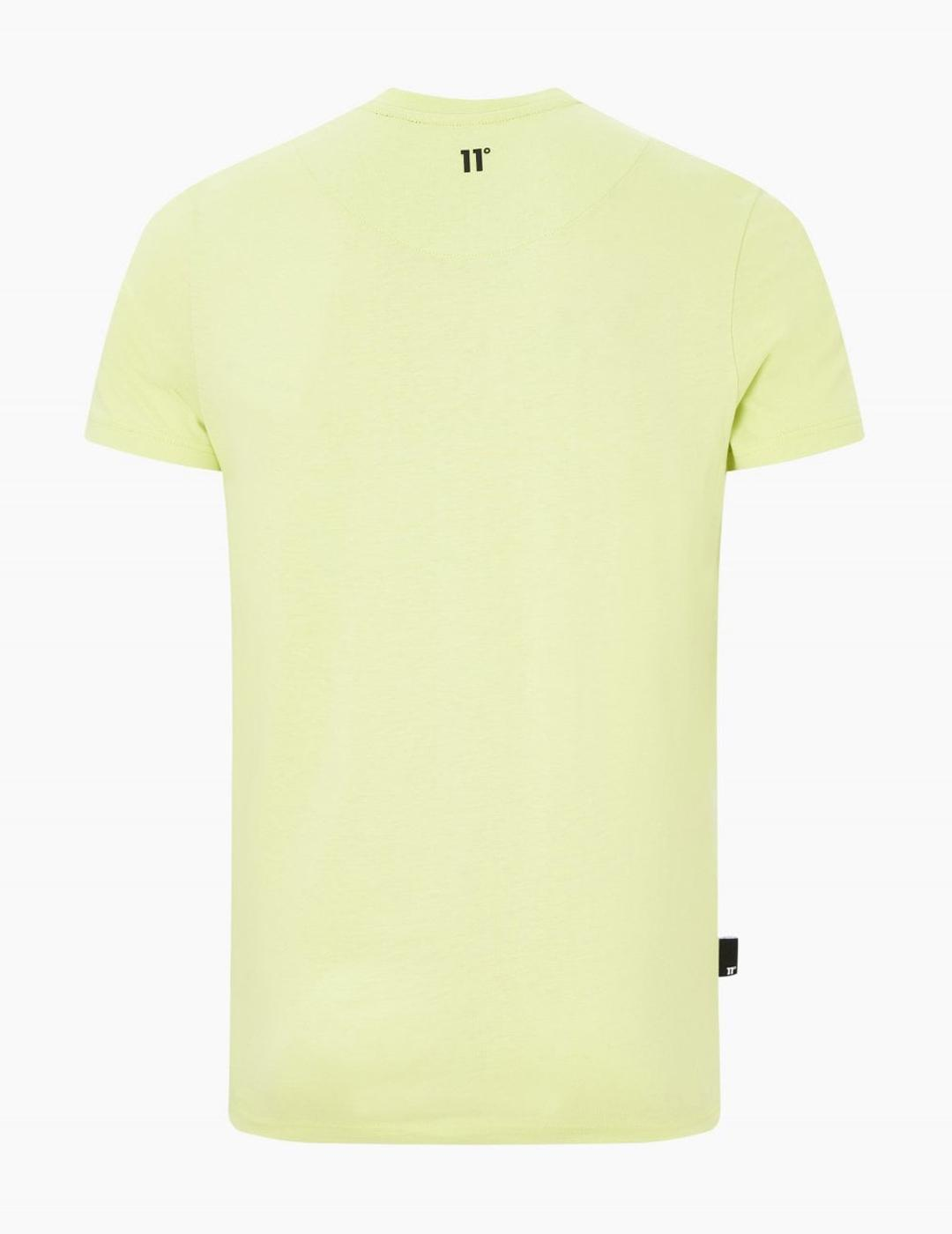 Camiseta Eleven Degrees BLOCK GRAPHIC - Avocado Green