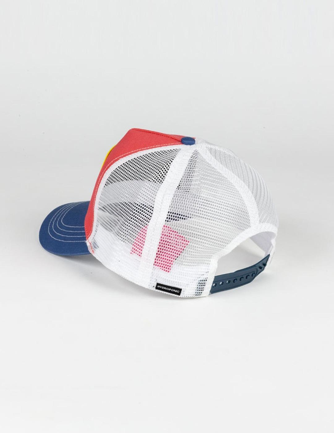 Gorra HYDROPONIC FUN PINK HEAD - Coral / Blue / White
