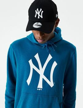 Sudadera Capucha New Era TEAM LOGO YANKEES - Blue/White