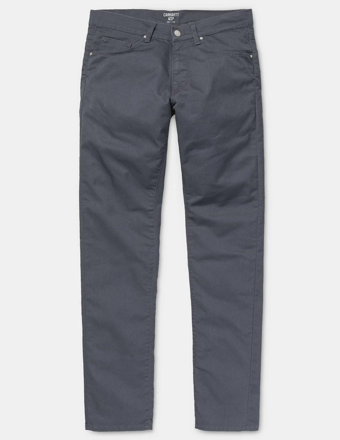 Pantalón Carhartt VICIOUS - Blacksmith rinsed