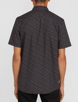 CAMISA VOLCOM LEVSTONE VIBES SS TEE DCR DARK CHARCOAL