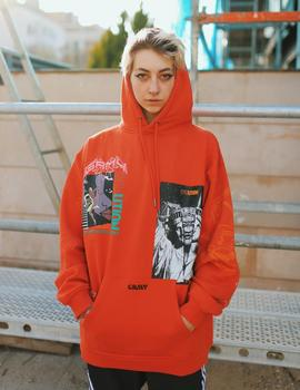 Sudadera Capucha Grimey LIVEUTION MAGIC 4 RESISTANCE - Ro