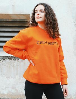 Sudadera Crew CARHARTT SWEAT - Pepper / Black