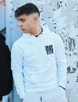Sudadera Capucha VANS REFLECT PO - White