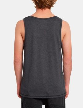VAST HTH TANK TEE HBK HEATHER BLACK