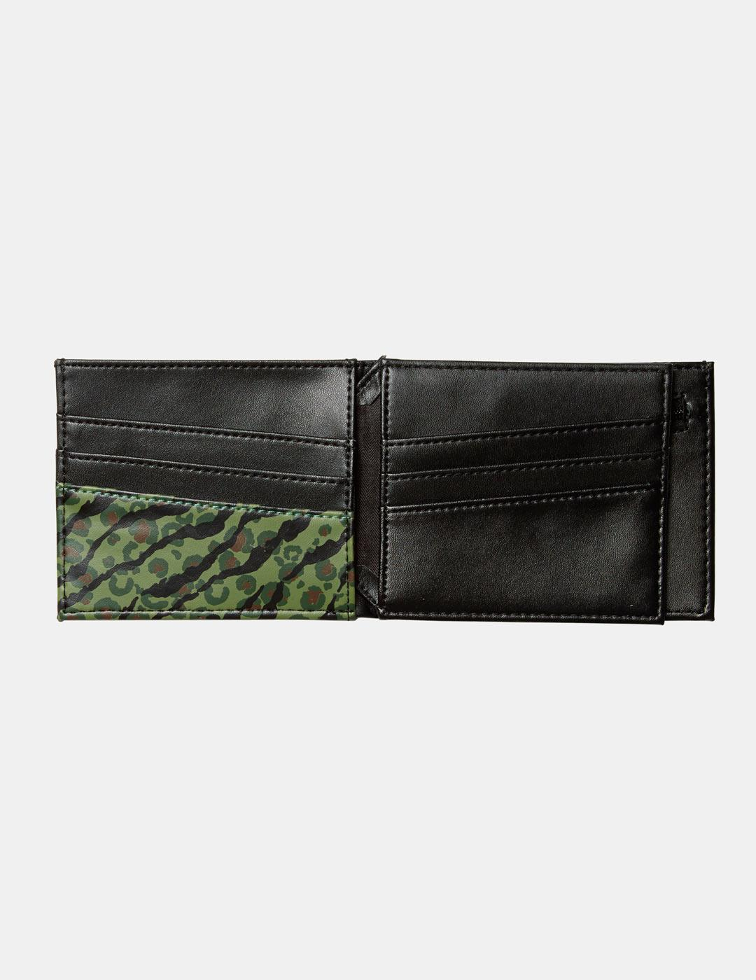 EMPTY PU WALLET CAM CAMOUFLAGE