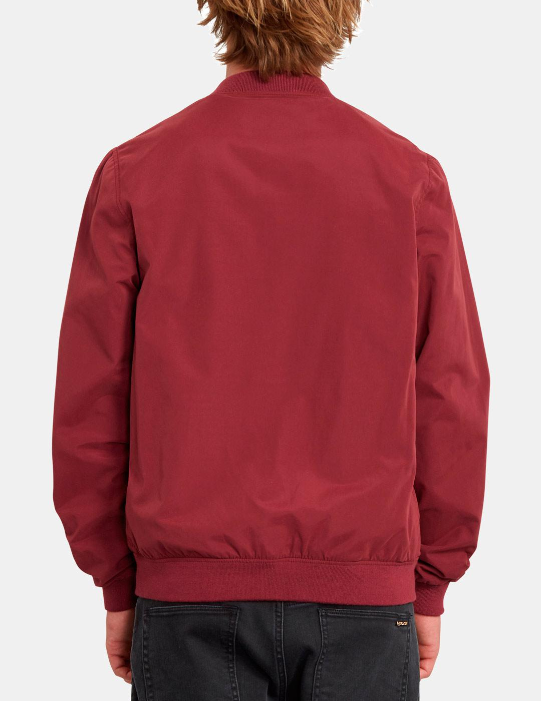 CAZADORA VOLCOM BURNWARD JACKET PIN PINOT