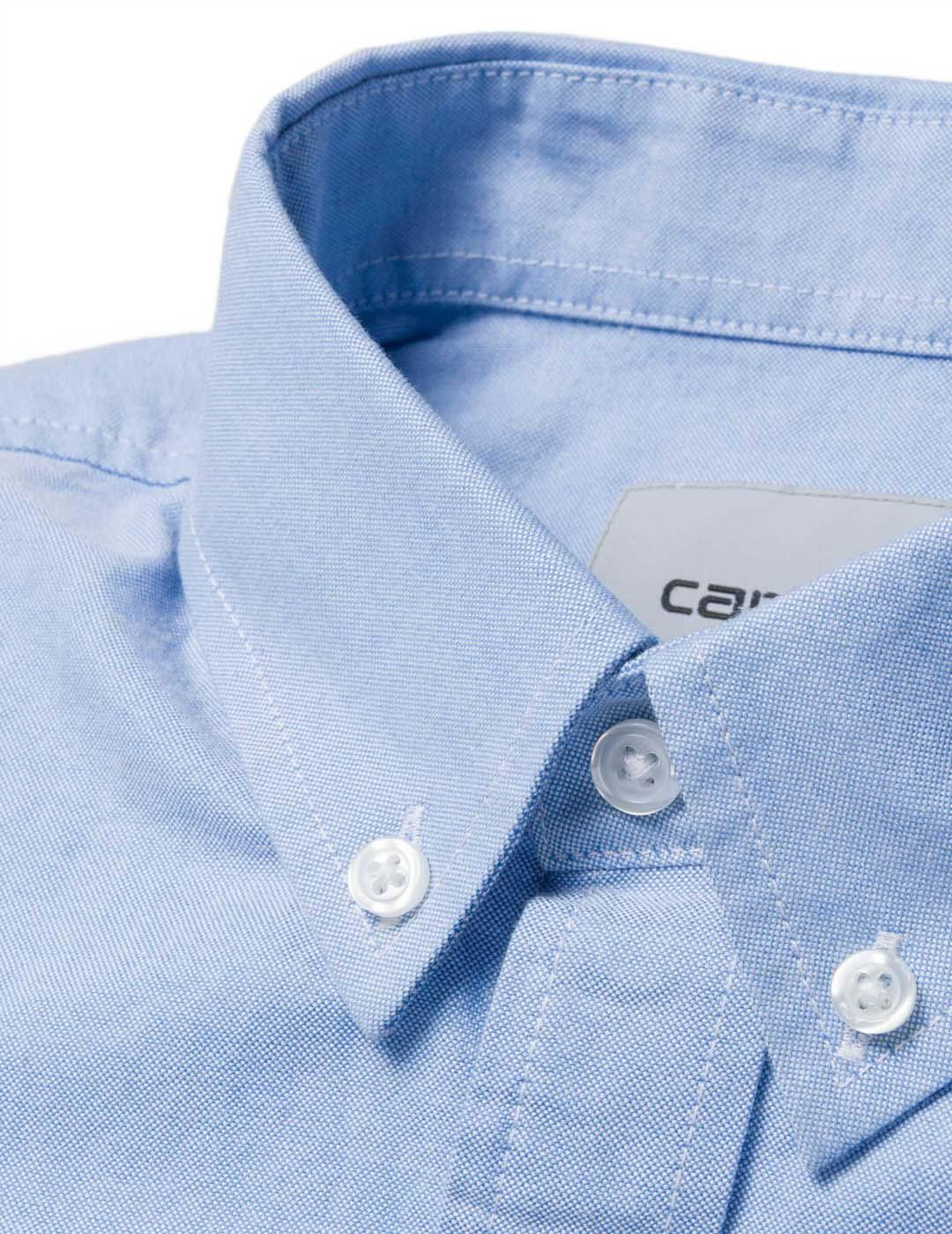 Camisa Carhartt BUTTON DOWN POCKET - Bleach