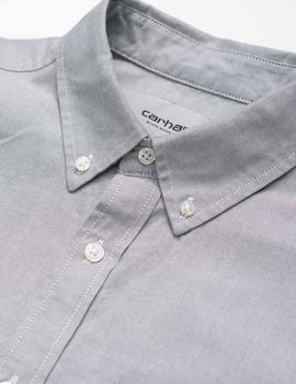 Camisa Carhartt BUTTON DOWN POCKET - Shiver