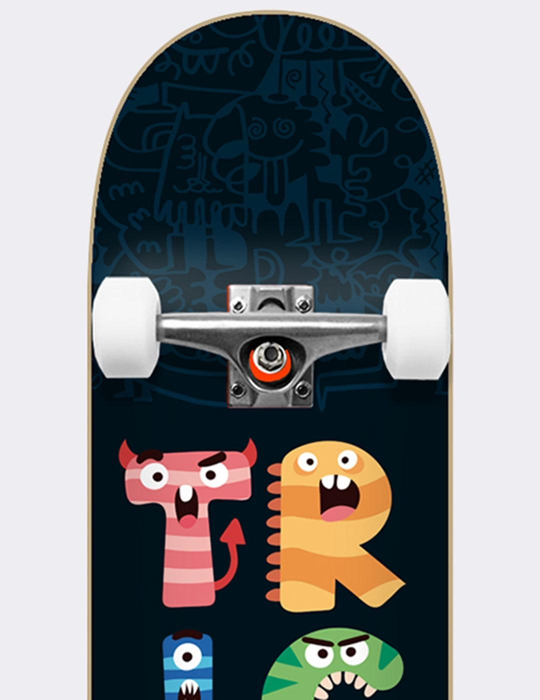 Skate Completo TRICKS MONSTERS 7.25' X 28'