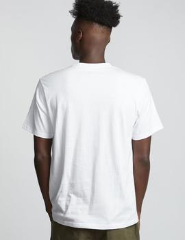 Camiseta Element BASIC POCKET LABEL - Optic White