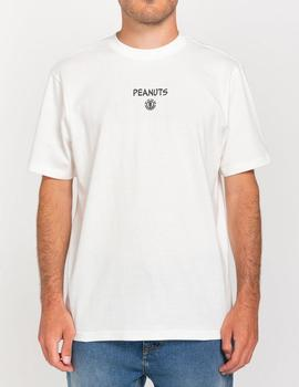 Camiseta Element PEANUTS KRUZER - Off White