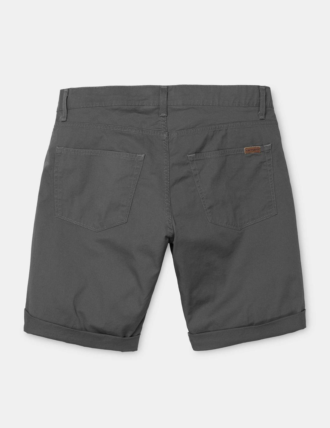 Bermuda Carhartt SWELL - Blacksmith rinsed