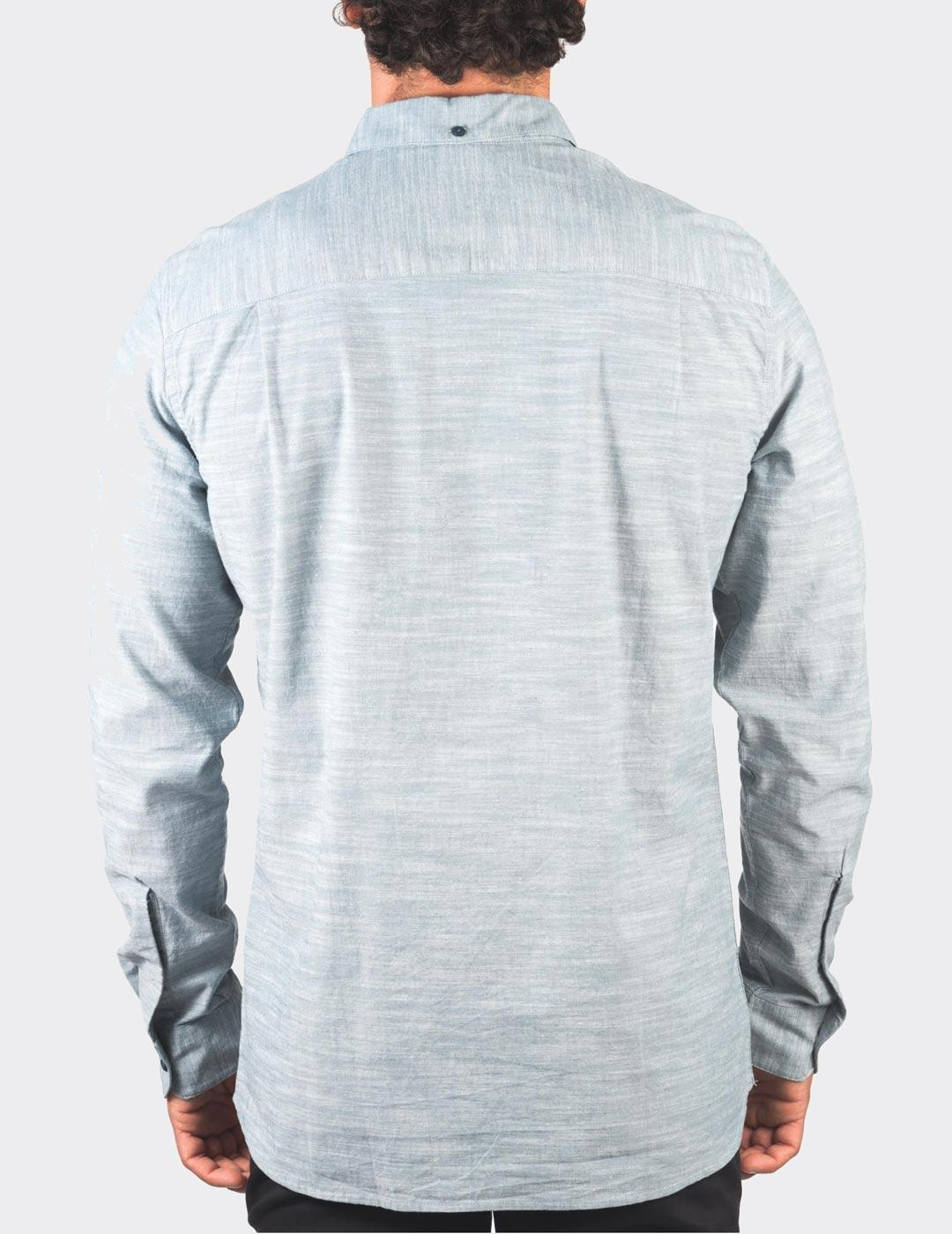 Camisa Hurley ONE-ONLY 2.0 LS - Ash Green