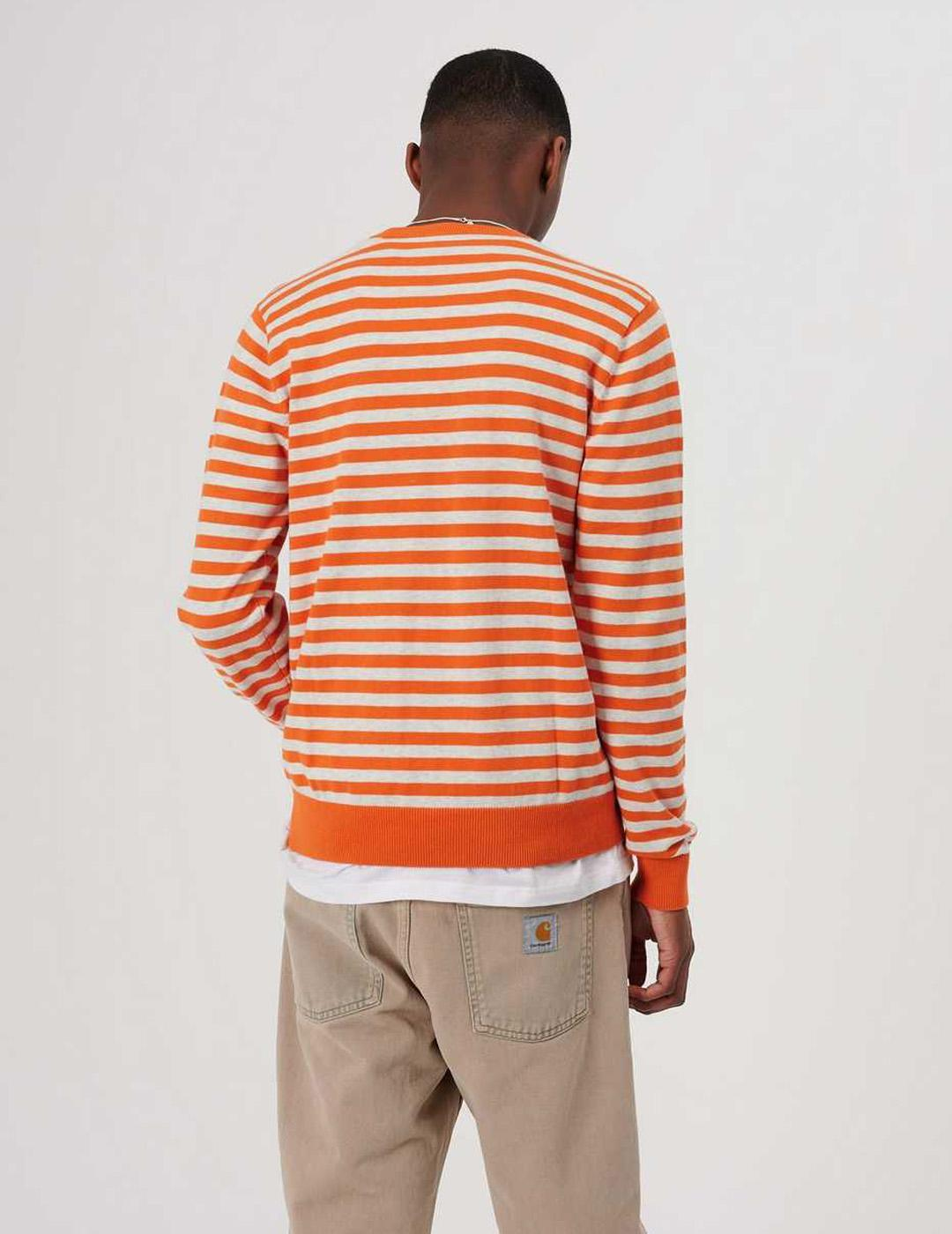 Jersey Carhartt - SCOTTY - Clockwork ash heather