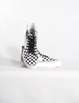 Zapatillas W SK8 HI PLATFORM 2.0 - PLAID CHECK BLK