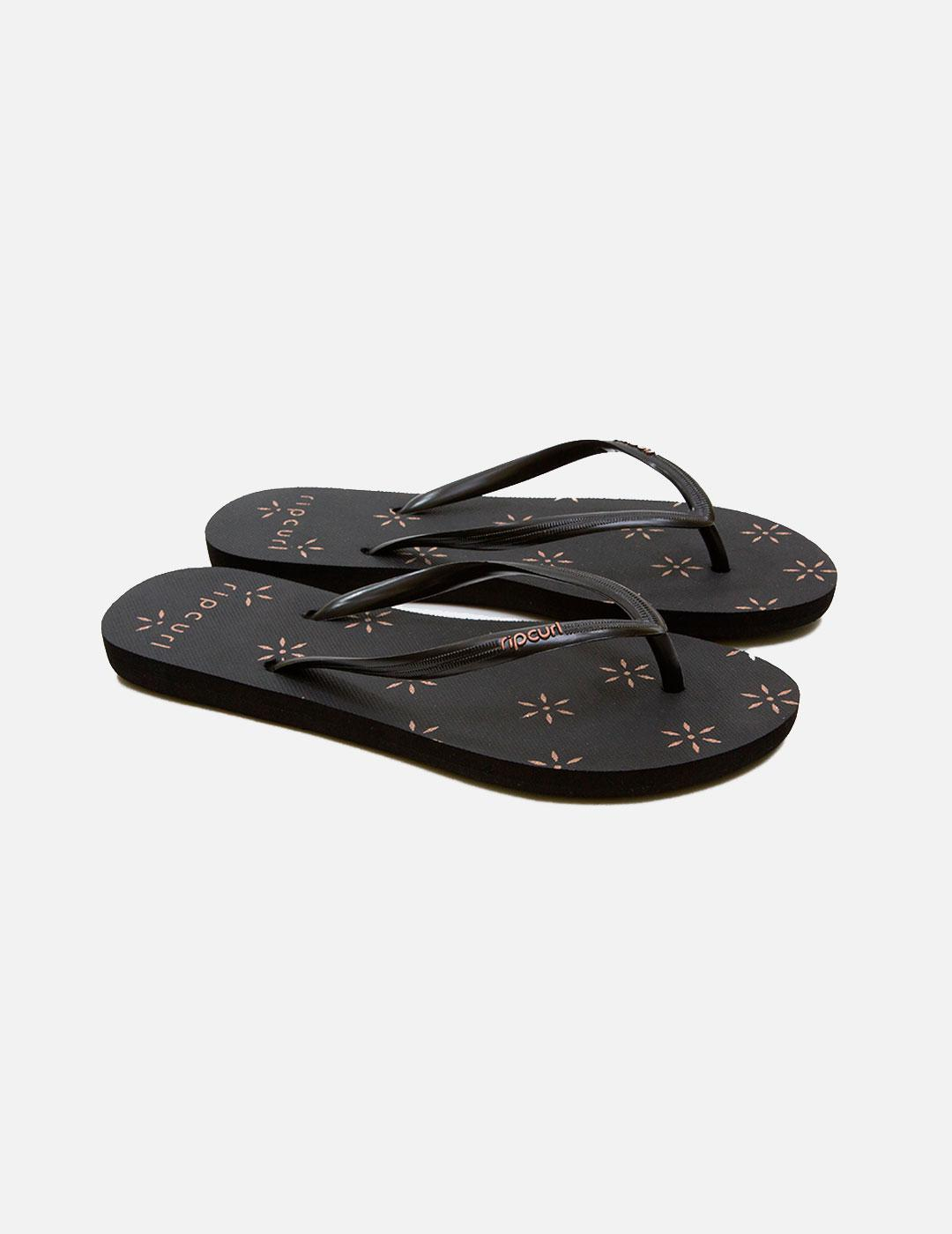 Chanclas RIP CURL GLITTER FLOWER Black